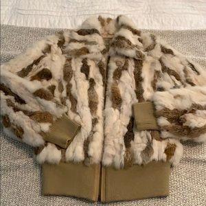 Jackets & Blazers - Rabbit Fur bomber jacket